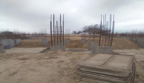 Hostel Block H2 –  column casting completed 05.04.2021
