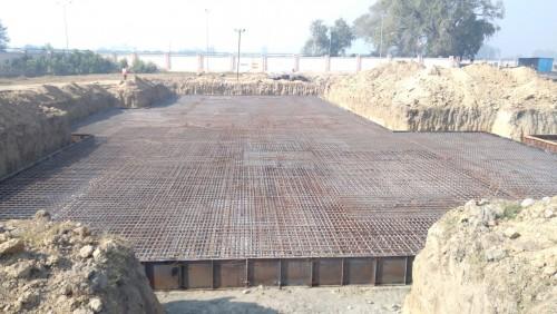 Hostel Block H1 – Steel placing & binding second layer work in progress (21.12.2020)