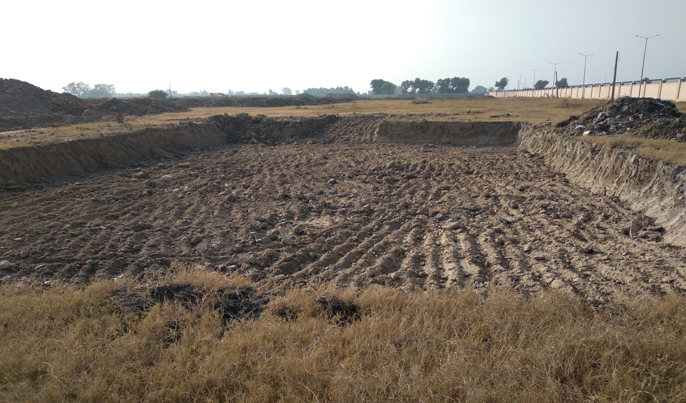 WATER TANK & PLANT ROOM - Excavation completed (01-12-2020)