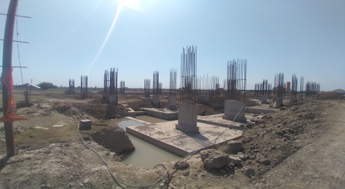 LIBRARY- column casting works in competed 19.04.2021