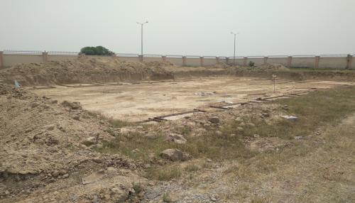 DG RoomDG ROOM - Excavation in completed PCC layout in progress 04.05.2021