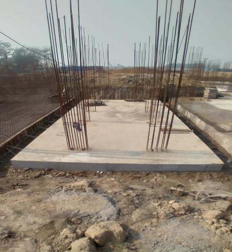 Hostel Block H2 – Raft RCC work Completed 25.01.2021