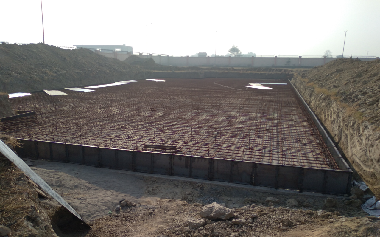 Hostel for Married Students - Steel placing & binding second layer work in progress -(08-12-2020)