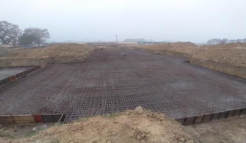 Hostel Block H7 – Steel placing & binding work – second layer work in complete - (14-12-2020)