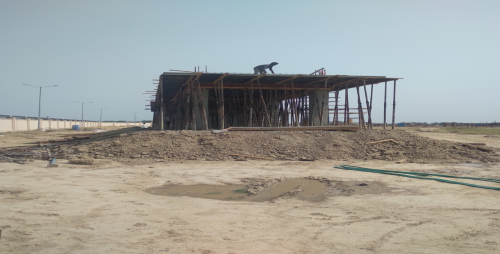 WAITING ROOM – slab casting work completed 11.05.2021