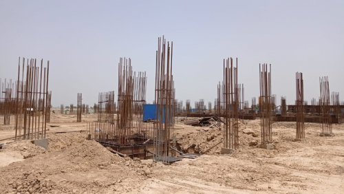 INCUBATION – soil filling work in completed 31.05.2021