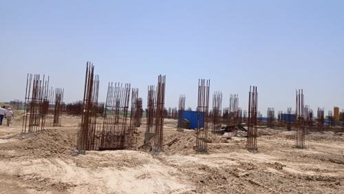 INCUBATION – soil filling work in completed 24.05.2021