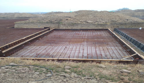 Hostel Block H4 – steel placing & binding second layer in progress (23-11-2020)