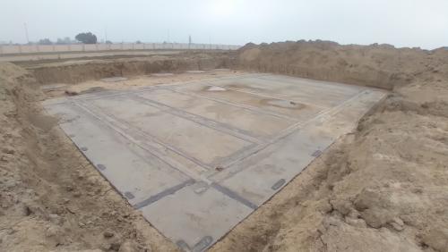 WATER TANK & Plant room  - Footing PCC work complete 16.02.2021