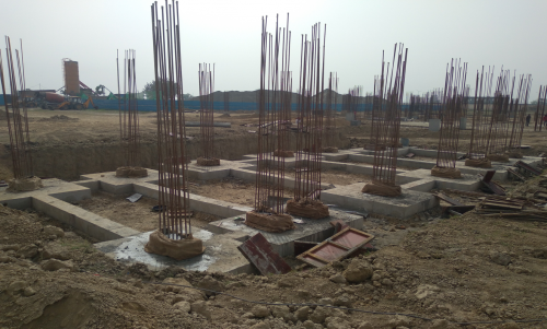 HEALTH CENTRE-  Footing RCC work and  in completed 15.03.2021