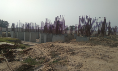Non Teaching Staff ResidenceNon Teaching Staff Residence – shear wall casting work in completed  11.05.2021
