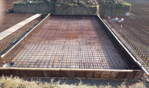 Hostel Block H4 – steel placing & binding second layer in progress (17-11-2020)
