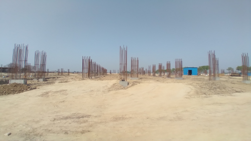Academic block – 2nd pit soil filling work in completed 30.03.2021