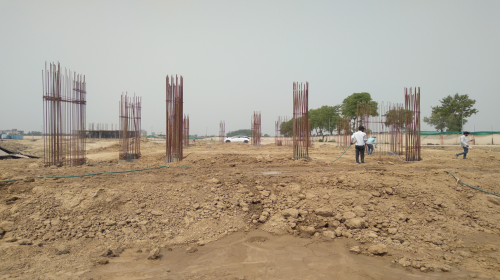 INCUBATION – soil filling work in completed 04.05.2021