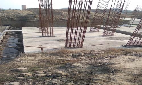 Hostel Block H4 – Raft RCC work Completed 01.02.2021