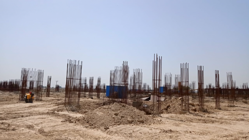INCUBATION – soil filling work in completed 17.05.2021