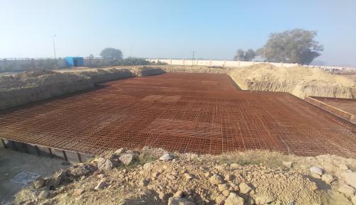Hostel Block H1 – Steel placing & binding second layer work in progress (01-12-2020)