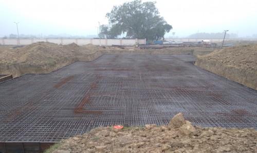 Hostel Block H3 – steel placing & binding second layer in progress - (14-12-2020)
