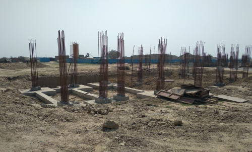 HEALTH CENTRE-  Footing RCC work and  in completed 30.03.2021
