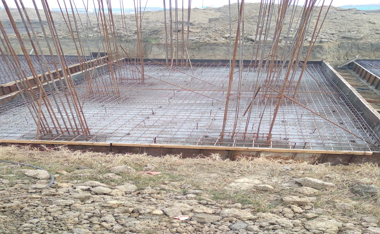 Hostel Block H4 – steel placing & binding second layer in progress (28.12.2020)
