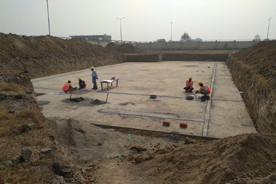 Hostel for Married Students –layout for raft in progrees (9-11-2020)