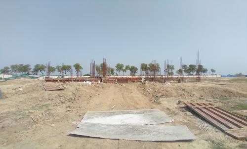 Director's residence – Grade slab shuttering work in progress 30.03.2021