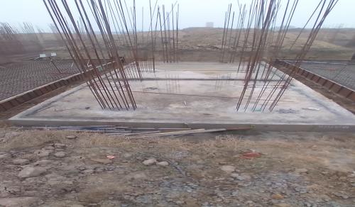 Hostel Block H4 – Raft RCC work Completed 11.01.2021