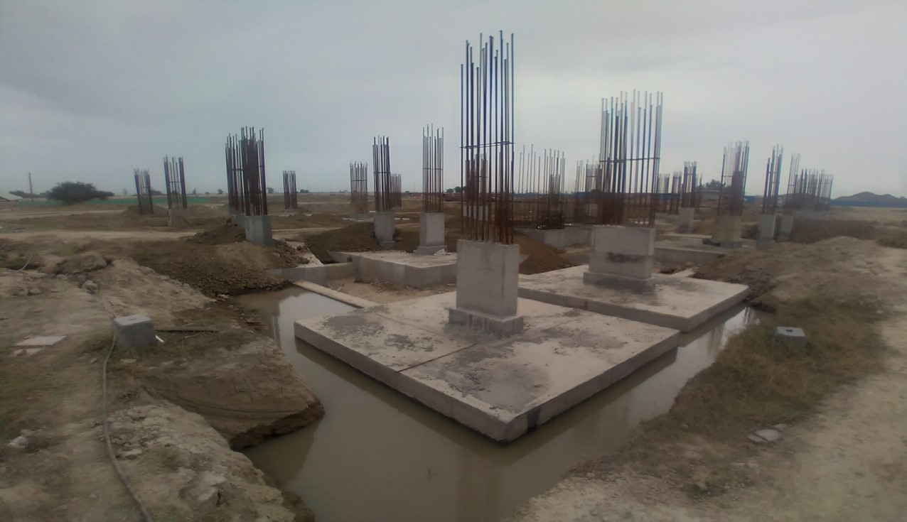 LIBRARY- column casting works in competed 05.04.2021