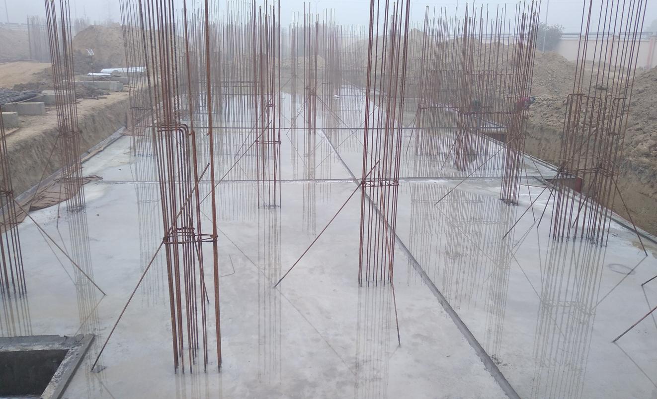 Professor's residenceProfessor's residence – Raft RCC work Completed 18.01.2021