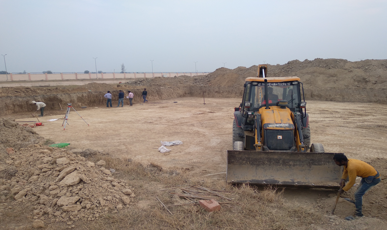 WATER TANK & PLANT ROOM - Excavation completed -(08-12-2020)