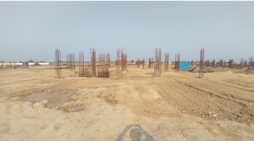 INCUBATION – soil filling work in completed 11.05.2021