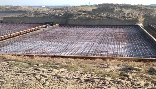 Hostel Block H4 – steel placing & binding second layer in progress (21.12.2020)