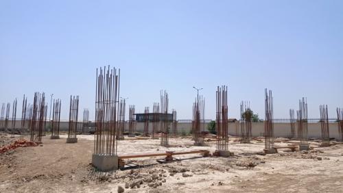 COMMUNITY CENTER – soil filling work in progress  24.05.2021