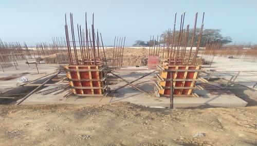 Hostel Block H2 – layout work in progress column work in progress 01.02.2021