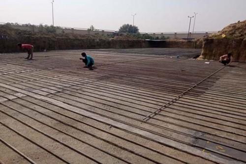 Hostel Block H1 – Steel placing & binding work in progress (31-10-2020)