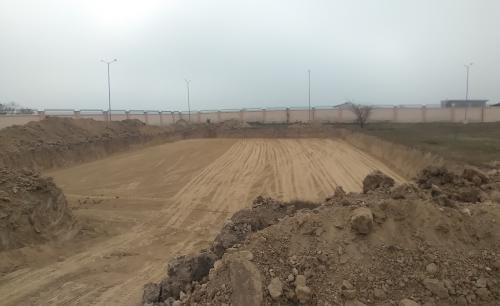 DG ROOM - Excavation in completed 16.02.2021