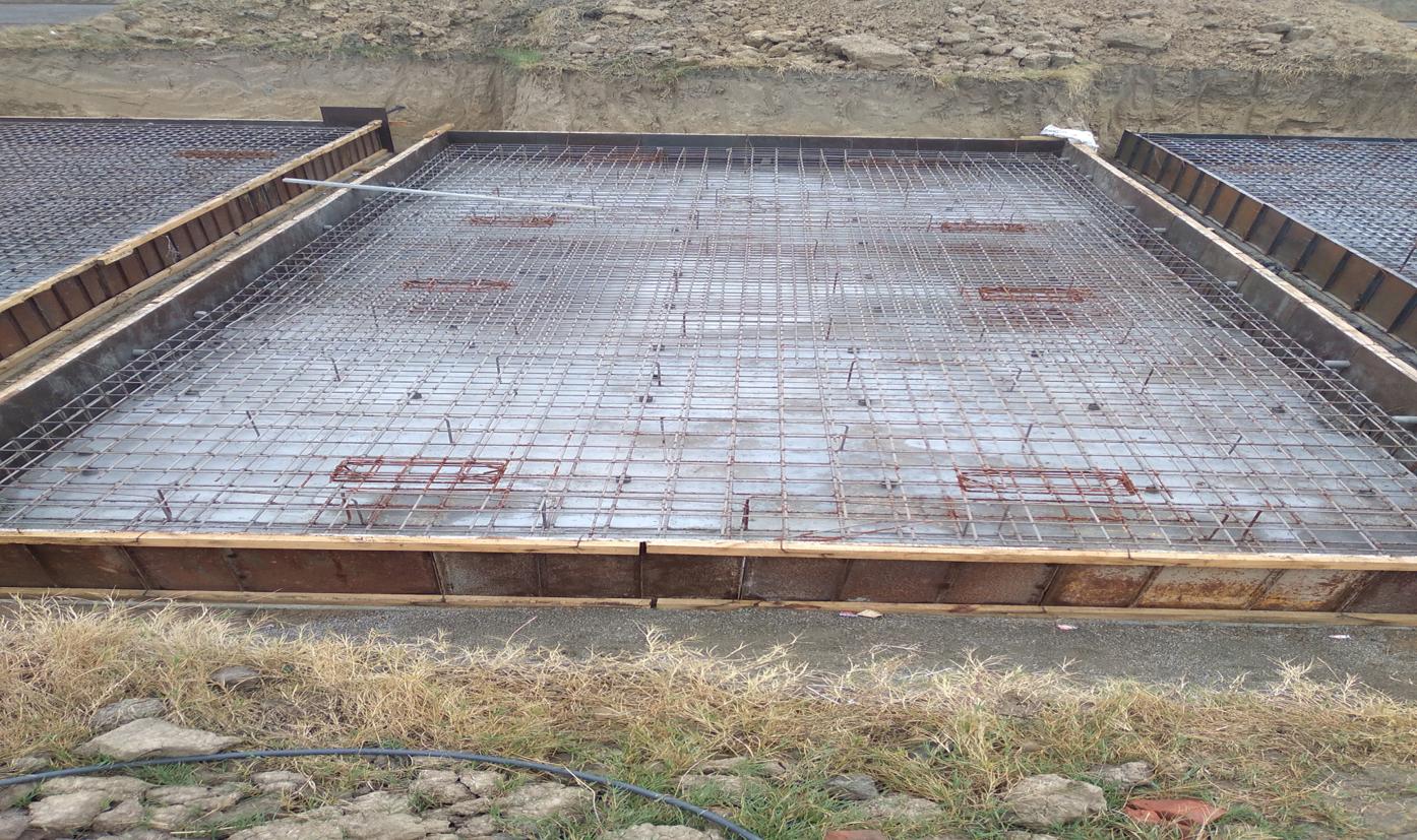 Hostel Block H4 – steel placing & binding second layer in progress - (14-12-2020)