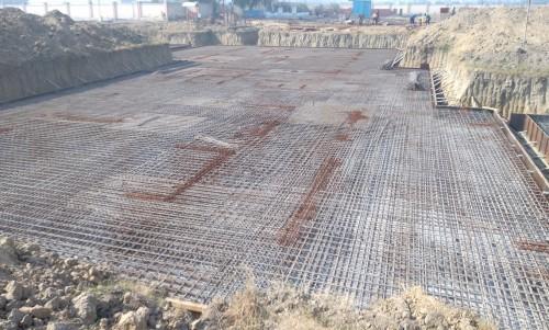 Hostel Block H5 – steel placing & binding work second layer in progress (21.12.2020)