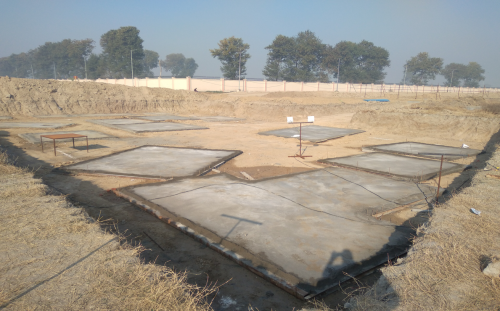 INCUBATION – Footing PCC work completed (01-12-2020)